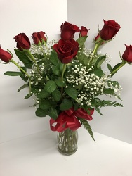 Valentine's Day Roses from Blythe Flowers in Ottawa, IL