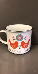 Be Happy Mug from Blythe Flowers in Ottawa, IL