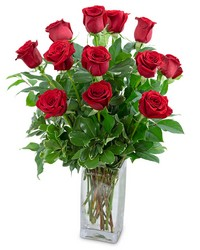 Classic Dozen Red Roses from Blythe Flowers in Ottawa, IL