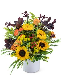 Overflowing with Sunshine from Blythe Flowers in Ottawa, IL
