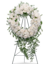 Eternal Peace Wreath from Blythe Flowers in Ottawa, IL