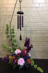 Wind Chime Arrangement  from Blythe Flowers in Ottawa, IL