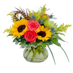 Sunrise Harvest Beauty from Blythe Flowers in Ottawa, IL