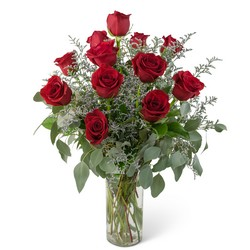 Elegance and Grace Dozen Roses from Blythe Flowers in Ottawa, IL