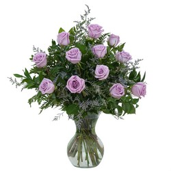 Lovely Lavender Roses from Blythe Flowers in Ottawa, IL