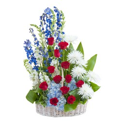 Honor Basket Tribute from Blythe Flowers in Ottawa, IL