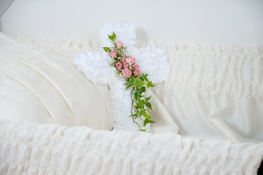 Cross Pillow from Blythe Flowers in Ottawa, IL
