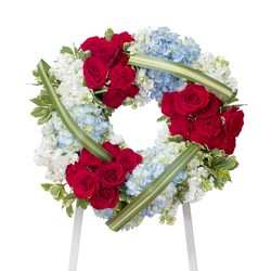 Honor Wreath from Blythe Flowers in Ottawa, IL