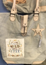 Wild and Free Tote Bag from Blythe Flowers in Ottawa, IL